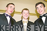 SHOW: Pa Joy, Ryan Lucey, Jerry Hoare taking part in the Intermediate School, Killorglin fashion show last Thursday.