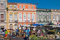 Comercio de rua no mercado Ver o Peso. Belem. Para. 2008. Foto de J.L.Bulcão..
