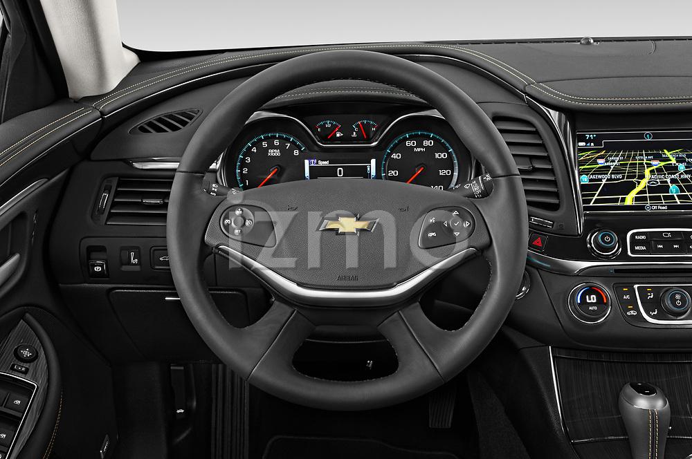 Car pictures of steering wheel view of a 2020 Chevrolet Impala Premier 4 Door Sedan Steering Wheel