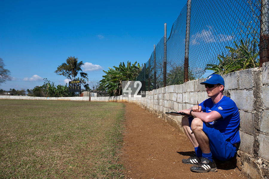 BASEBALL - POLES BASEBALL FRANCE - TRAINING CAMP CUBA - HAVANA (CUBA) - 13 TO 23/02/2009 - BORIS ROTHERMUNDT (FRANCE)