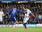 Chelsea's Diego Costa scoring his sides opening goal <br /> <br /> - UEFA Champions League - Chelsea vs Paris Saint Germain - Stamford Bridge - London - England - 9th March 2016 - Pic David Klein/Sportimage