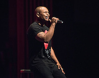 Alton Luke '18 performs. Occidental College students perform and compete during Apollo Night, one of Oxy's biggest talent showcases, on Friday, Feb. 26, 2016 in Thorne Hall. Sponsored by ASOC, hosted by the Black Student Alliance as part of Black History Month.<br /> (Photo by Marc Campos, Occidental College Photographer)