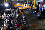 Carson City Fire Chief Bob Schreihans speaks at his badge-pinning ceremony at Station 51 in Carson City, Nev., on Tuesday, Feb. 3, 2015. <br /> Photo by Cathleen Allison/Nevada Photo Source