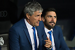 Quique Setien coach of UD Las Palmas during the match of Spanish La Liga between Real Madrid and UD Las Palmas at  Santiago Bernabeu Stadium in Madrid, Spain. March 01, 2017. (ALTERPHOTOS / Rodrigo Jimenez)