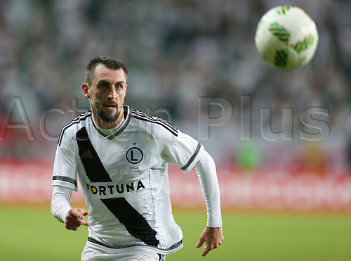 03.08.2016, Warsaw, Poland,  Michal Kucharczyk (Legia), Legia Warsaw versus AS Trencin, Champions League, qualification. The game  ended in a 0-0 draw with Legio going through on away goal.