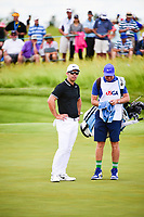 Paul Casey (GBR) looks over his putt on 6 during Sunday's round 4 of the 117th U.S. Open, at Erin Hills, Erin, Wisconsin. 6/18/2017.<br /> Picture: Golffile | Ken Murray<br /> <br /> <br /> All photo usage must carry mandatory copyright credit (&copy; Golffile | Ken Murray)