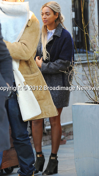 Pictured: Beyonce Knowles, Jay Z, Blue Ivy<br /> Mandatory Credit &copy; Jayme Oak/Broadimage<br /> Jay Z and wife Beyonce Knowles take their precious cargo baby Blue Ivy to lunch in a restaurant in Brooklyn in New York City<br /> <br /> 1/20/14, New York, New York, United States of America<br /> <br /> Broadimage Newswire<br /> Los Angeles 1+  (310) 301-1027<br /> New York      1+  (646) 827-9134<br /> sales@broadimage.com<br /> http://www.broadimage.com<br /> <br /> <br /> Pictured: Beyonce Knowles, Jay Z, Blue Ivy<br /> Mandatory Credit &copy; Jayme Oak/Broadimage<br /> Jay Z and wife Beyonce Knowles take their precious cargo baby Blue Ivy to lunch in a restaurant in Brooklyn in New York City<br /> <br /> 1/20/14, New York, New York, United States of America<br /> Reference: 011914_JKNY_BDG_018<br /> <br /> Broadimage Newswire<br /> Los Angeles 1+  (310) 301-1027<br /> New York      1+  (646) 827-9134<br /> sales@broadimage.com<br /> http://www.broadimage.com