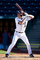 Eric Cheray (14) of the Missouri State Bears at bat during a game against the Southern Illinois University- Edwardsville Cougars at Hammons Field on March 9, 2012 in Springfield, Missouri. (David Welker / Four Seam Images)