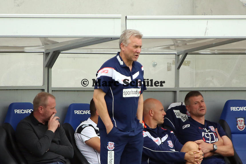 Trainer Benno Moehlmann (FSV) - FSV Frankfurt vs. FC Ingolstadt, 8. Spieltag, Frankfurter Volksbank Stadion
