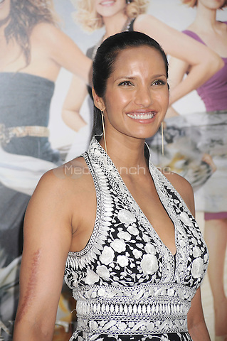 Padma Lakshmi at the film premiere of 'Sex and the City 2' at Radio City Music Hall in New York City. May 24, 2010.Credit: Dennis Van Tine/MediaPunch