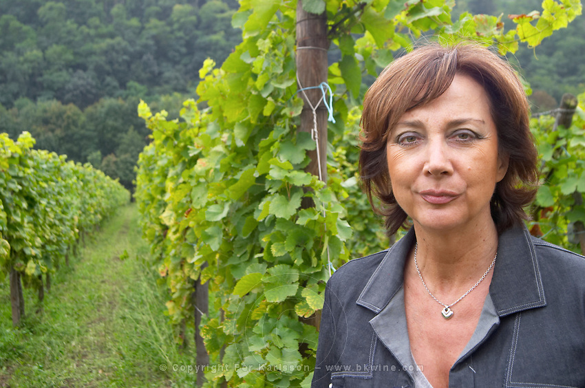 Catherine Faller owner dom faller weinbach kaysersberg alsace france