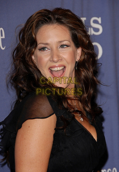 "JOELY FISHER.The 15th Annual ""A Night at Sardi's"" Fundraiser and Awards held at The Beverly Hilton Hotel in Beverly Hills, California, USA..March 7th, 2007.headshot portrait mouth open .CAP/DVS.©Debbie VanStory/Capital Pictures"