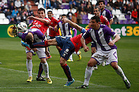 Real Valladolid V Osasuna during match of La Liga 2012/13. 31/03/2013. Victor Blanco/Alterphotos /NortePhoto