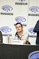 Ashley E. Miller at Wondercon in Anaheim Ca. March 31, 2019
