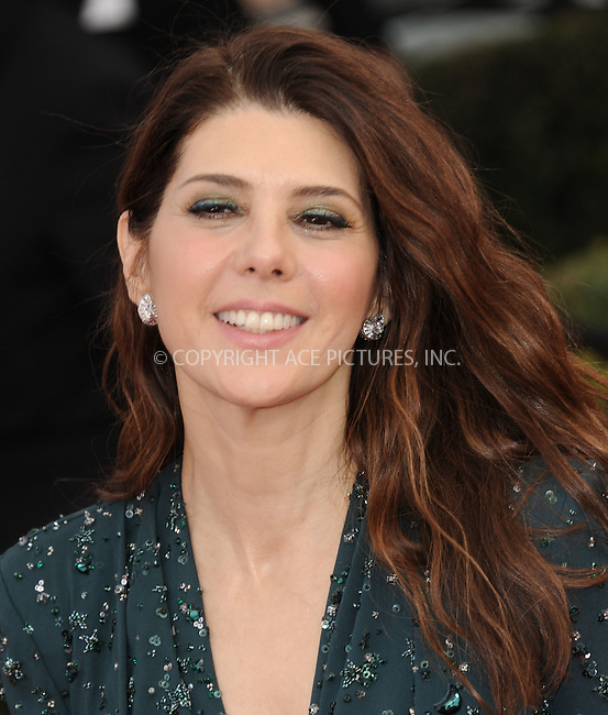 WWW.ACEPIXS.COM<br /> <br /> January 30 2016, LA<br /> <br /> Marisa Tomei arriving at the 22nd Annual Screen Actors Guild Awards at the Shrine Auditorium on January 30, 2016 in Los Angeles, California<br /> <br /> By Line: Peter West/ACE Pictures<br /> <br /> <br /> ACE Pictures, Inc.<br /> tel: 646 769 0430<br /> Email: info@acepixs.com<br /> www.acepixs.com