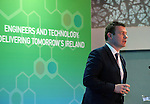 14-5-2015: ENGINEERS CONFERNECE KILLARNEY: <br /> Minister of Environment, Community &amp; Local Government, Alan Kelly takes a drink of water with Regina Moran, CEO, Fujitsu Ireland and President of Engineers Ireland during his address at the Engineers Ireland Annual Conference titled &lsquo;Engineering and Technology in The Malton Hotel, Killarney on Thursday.<br /> Delivering Tomorrow&rsquo;s Ireland&rsquo; saw over 200 industry leaders gather in Killarney to discuss issues affecting the development of Ireland from an economic, social, industrial and educational standpoint and how engineering can help tackle the challenges facing the nation.  Regina Moran, Chartered Engineer, President of Engineers Ireland and CEO of Fujitsu Ireland; Michael McNicholas, CEO, Ervia,  Jerry O&rsquo;Sullivan, Deputy Chief Executive, ESB, Dr Edmond Harty, CEO, Dairymaster and economist Colm McCarthy were among those who contributed to the debate.  <br /> Photo Don MacMonagle<br /> <br /> Further information Kelley Cousins / Engineers Ireland 086 2695953 <br /> <br /> pr repro free photo