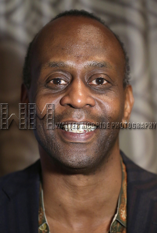 K. Todd Freeman visits the 2015 Drama Desk Awards Media Room at Marriott Marquis Times Square on May 31, 2015 in New York City.