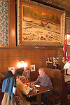 WY: Wyoming, Cody: Dinner at Buffalo Bill's Hotel Irma...Photo #: yellow597..Photo copyright Lee Foster, 510/549-2202, lee@fostertravel.com, www.fostertravel.com..