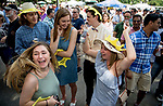 ELMONT, NY - JUNE 09: Scenes from Belmont Stakes Day at Belmont Park on June 9, 2018 in Elmont, New York. (Photo by Scott Serio/Eclipse Sportswire/Getty Images)