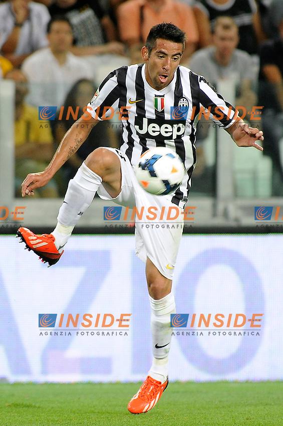 Mauricio Isla (Juventus) <br /> Juventus Lazio<br /> Juventus Stadium, Torino 31-08-2013 <br /> Serie A 2013/2014 <br /> Football Calcio <br /> Foto Insidefoto Giorgio Perottino