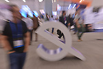 MIAMI BEACH, FL - APRIL 24: Atmosphere during eMerge Americas 2018 -day2 during Keynote: Do Robots Need To Look Like Humans? at Miami Beach Convention Center on April 24, 2018 in Miami Beach, Florida.  ( Photo by Johnny Louis / jlnphotography.com )