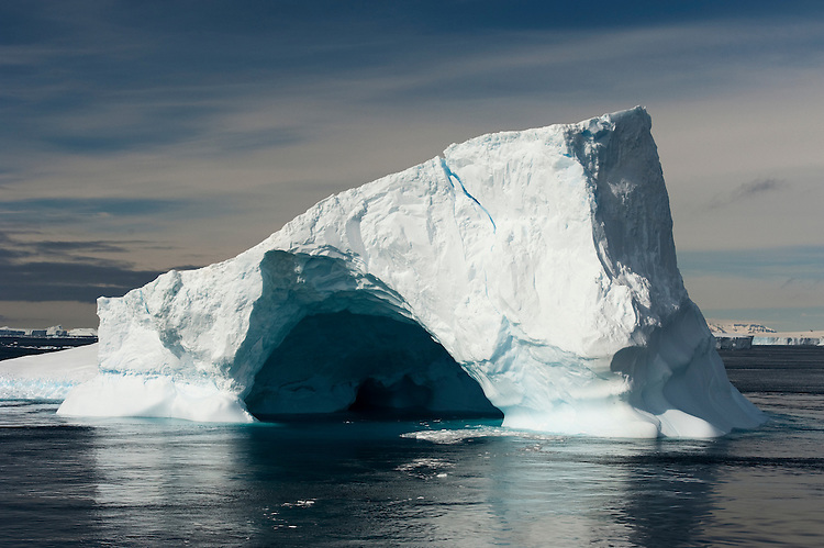 Icebergs in the Antarctic Sound