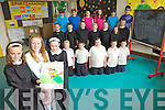 SOUNDS FUN: Triona Curran, Erin Stack and Marie McCarthy from Kilmoyley national school will perform in the Sound of Music in Ballyheigue Community Centre next month with classmates Saoirse Sheehy, Killian Heanue, Lauren Carey, Liam Flaherty, Alan Horgan, Evan Griffin, Marcus Leane, Sarah O'Sullivan, Ciara Casey, Aoife Godley, Brid Horan, David Godley, Cathal Sheehan, Kian Regan, Emma Curran, Rachel Murphy, Cian Doherty and Ciaran Monahan. .