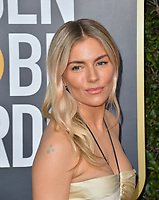 LOS ANGELES, USA. January 06, 2020: Sienna Miller arriving at the 2020 Golden Globe Awards at the Beverly Hilton Hotel.<br /> Picture: Paul Smith/Featureflash