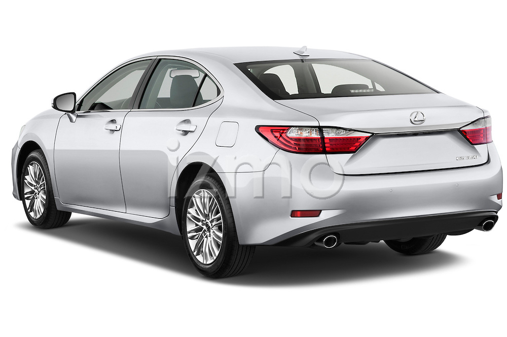 Rear three quarter view of a 2013 Lexus ES 350
