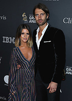 BEVERLY HILLS - FEBRUARY 9:  Maren Morris and Ryan Hurd at the 2019 Clive Davis Pre-Grammy Gala at the Beverly Hilton on February 9, 2019 in Beverly Hills, California. (Photo by Xavier Collin/PictureGroup)
