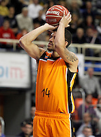 Mad-Croc Fuenlabrada's James Feldeine during Liga Endesa ACB match.November 18,2012. (ALTERPHOTOS/Acero) /NortePhoto