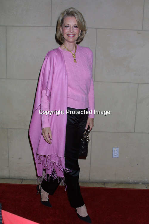 """©2003 KATHY HUTCHINS / HUTCHINS PHOTO.GENERAL HOSPITAL 40TH ANNIVERSAY PARTY.""""The Highlands"""" Club.HOLLYWOOD, CA.APRIL 3, 2003..CONSTANCE TOWERS"""