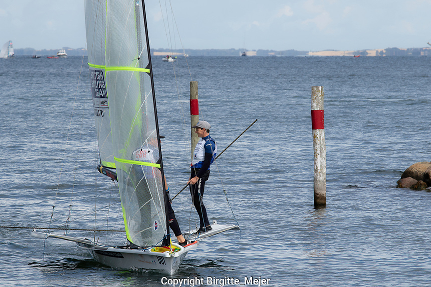 Aarhus, Denmark is hosting the 2018 Hempel Sailing World Championships from 30 July to 12 August 2018. More than 1,400 sailors from 85 nations are racing across ten Olympic sailing disciplines as well as Men's and Women's Kiteboarding.