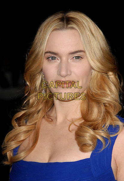 KATE WINSLET.Attends The 2007 Palm Springs International Film Festival Awards Gala held at The Palm Springs Convention Center in Palm Springs, California, USA,  January 06 2007..portrait headshot blue dress .CAP/DVS.©Debbie VanStory/Capital Pictures