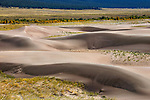 The Great Sand Dunes National Park and Preserve, Colorado, USA