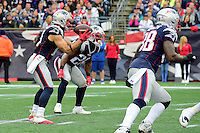 Sunday, October 2, 2016: New England Patriots wide receiver Julian Edelman (11) takes a direct snap during the NFL game between the Buffalo Bills and the New England Patriots held at Gillette Stadium in Foxborough Massachusetts. Buffalo defeats New England 16-0. Eric Canha/Cal Sport Media