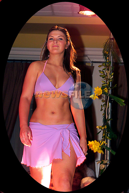 Emma Jane Flinn in The Fashion Show in The Westcourt Hotel...Pic Tony Campbell/Newsfile