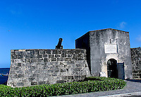 151201  Bahamian fortress, Fort Montague built in 1792 to protect Nassau,Bahamas.(photo credit : kenneth e. dennis/kendennisphoto.com)