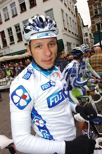 04.04.2011. Tour des Flanders Belgium.  La Francaise des Jeux 2011, Geslin Anthony, Brugge