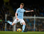 Kevin De Bruyne of Manchester City in action during the premier league match at the Etihad Stadium, Manchester. Picture date 3rd December 2017. Picture credit should read: Andrew Yates/Sportimage
