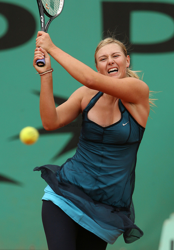 Photo: Maarten Straetemans..French Open, Roland Garros 2007. 30/05/2007..Maria Sharapova.