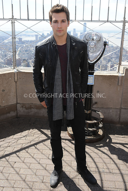 WWW.ACEPIXS.COM . . . . . .April 17, 2013...New York City....Kendall Schmidt of Big Time Rush at the Empire State Building Observatory on April 17, 2013 in New York City ....Please byline: KRISTIN CALLAHAN - ACEPIXS.COM.. . . . . . ..Ace Pictures, Inc: ..tel: (212) 243 8787 or (646) 769 0430..e-mail: info@acepixs.com..web: http://www.acepixs.com .