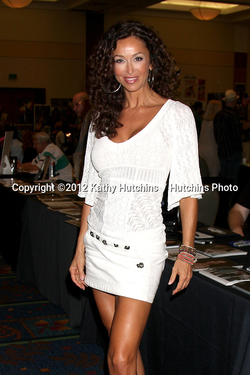 "LOS ANGELES - AUG 4:  Sofia Milos appearing at the ""Hollywood Show"" at Burbank Marriott Convention Center on August 4, 2012 in Burbank, CA"