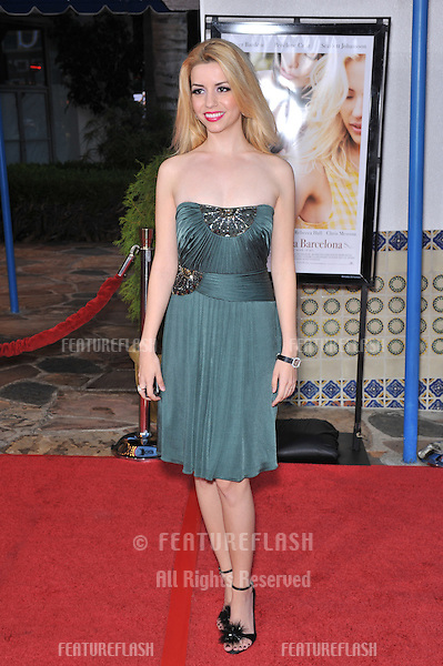 "Masiela Lusha at the Los Angeles premiere of ""Vicky Cristina Barcelona"" at the Mann Village Theatre, Westwood..August 4, 2008  Los Angeles, CA.Picture: Paul Smith / Featureflash"
