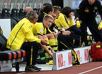 FUSSBALL   1. BUNDESLIGA  SAISON 2012/2013   2. Spieltag 1. FC Nuernberg - Borussia Dortmund       01.09.2012 Marco Reuss (Borussia Dortmund) nach der Auiswechslung auf der Bank