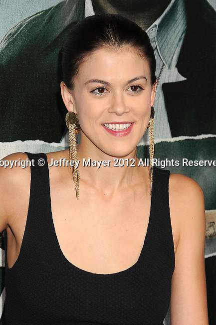 HOLLYWOOD, CA - OCTOBER 15: Lindsey Shaw arrives at the Los Angeles premiere of 'Alex Cross' at the ArcLight Cinemas Cinerama Dome on October 15, 2012 in Hollywood, California.