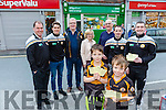 Launching Austin Stacks GAA Lotto tickets sold being sold at Rock street Post office Pictured front l-r Mark Lynch, Rory Lynch, Back l-r Pat Flanagan, Ronan Shanahan, Liam Lynch, Marie Willians, Martin Williams, Mikey Collins and Eoin Galvin
