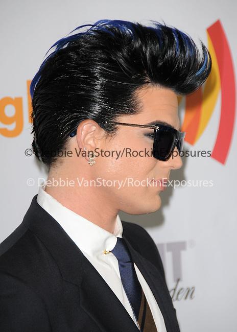 Adam Lambert at the 21st Annual GLAAD Media Awards held at The Hyatt Regency Century Plaza in Century City, California on April 17,2010                                                                   Copyright 2010  DVS / RockinExposures