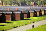 Tereny byłego niemieckiego nazistowskiego obozu koncentracyjnego i zagłady, Auschwitz II-Birkenau.<br /> Areas of the former German Nazi concentration camp and extermination camp, Auschwitz II- Birkenau.