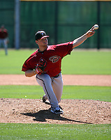 Cody Reed - Arizona Diamondbacks 2016 spring training (Bill Mitchell)